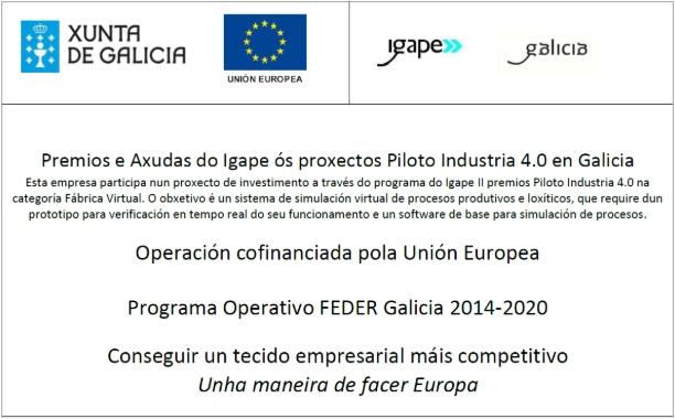 Premios e axudas do Igape ós proxectos Piloto Industria 4.0