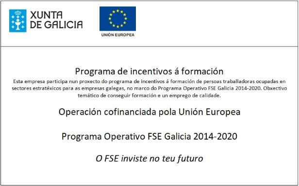 Programa de incentivos á formación